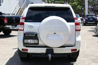 2016 Toyota Landcruiser Prado GDJ150R MY16 Kakadu (4x4) Crystal Pearl 6 Speed Automatic Wagon