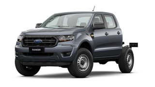 2020 Ford Ranger PX MkIII 2021.25MY XL Hi-Rider Grey 6 Speed Sports Automatic Cab Chassis.