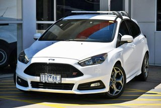2017 Ford Focus LZ ST White 6 Speed Manual Hatchback