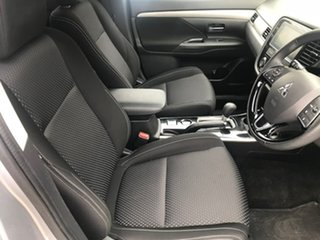 2017 Mitsubishi Outlander ZK MY18 LS 2WD Safety Pack Silver 6 Speed Constant Variable Wagon