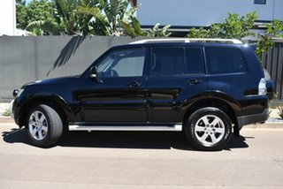 2007 Mitsubishi Pajero NS Exceed Black 5 Speed Sports Automatic Wagon.