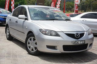 2007 Mazda 3 BK10F2 Neo Silver 5 Speed Manual Sedan.