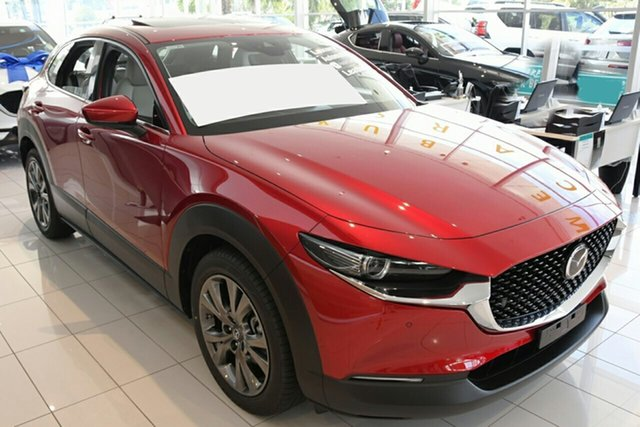 New Mazda CX-30 C30A X20 Astina (AWD) M Hybrid Liverpool, 2020 Mazda CX-30 C30A X20 Astina (AWD) M Hybrid Soul Red Crystal 6 Speed Automatic Wagon