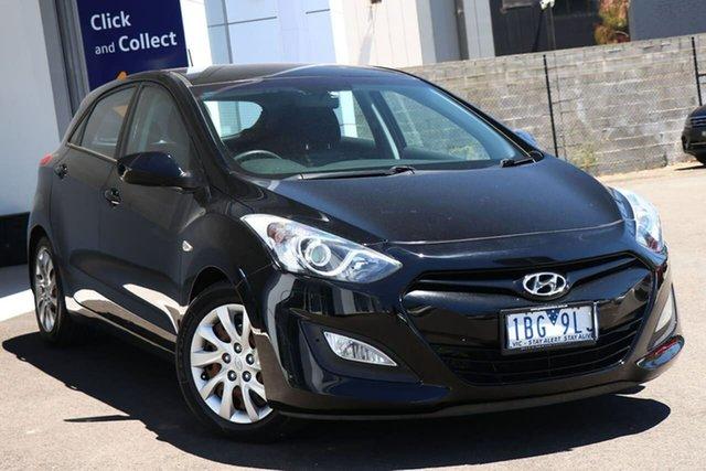 Used Hyundai i30 Port Melbourne, 2012 Hyundai i30 ACTIVE Black Automatic Hatchback