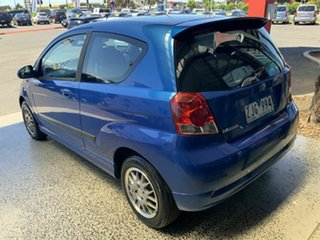 2007 Holden Barina TK MY07 Blue 4 Speed Automatic Hatchback.
