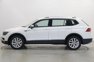 2019 Volkswagen Tiguan 5N MY19.5 132TSI Comfortline DSG 4MOTION Allspace Pure White 7 Speed.