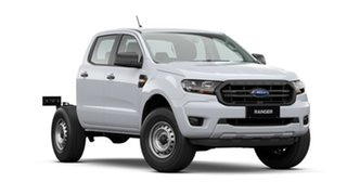2021 Ford Ranger PX MkIII 2021.25MY XL Hi-Rider White 6 Speed Sports Automatic Double Cab Chassis