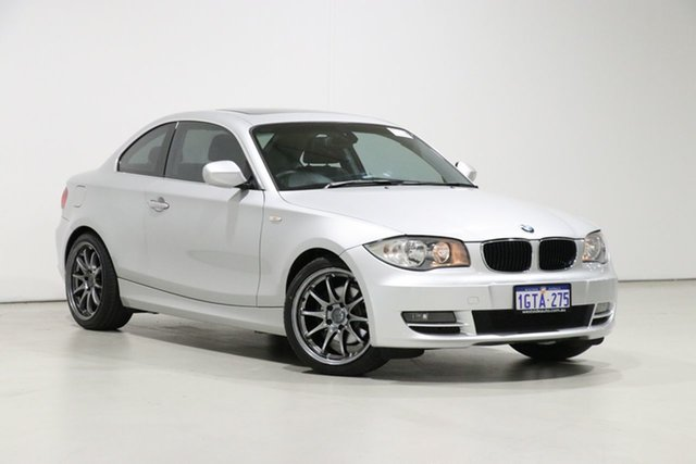 Used BMW 125i E82 MY09 Bentley, 2009 BMW 125i E82 MY09 Silver 6 Speed Automatic Coupe