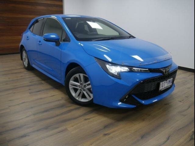 Used Toyota Corolla Mzea12R SX Wangaratta, 2018 Toyota Corolla Mzea12R SX Eclectic Blue Continuous Variable Hatchback