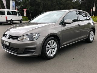 2017 Volkswagen Golf VII MY17 92TSI DSG Comfortline Grey 7 Speed Sports Automatic Dual Clutch