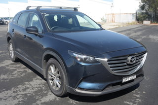 2017 Mazda CX-9 TC Touring SKYACTIV-Drive Crystal Blue 6 Speed Sports Automatic Wagon.