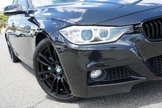 2013 BMW 3 Series F30 MY0813 335i M Sport Black 8 Speed Sports Automatic Sedan.