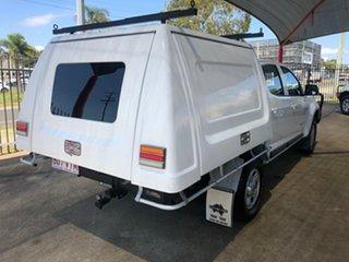 2013 Holden Colorado RG LT (4x4) White 5 Speed Manual Crew Cab Pickup.