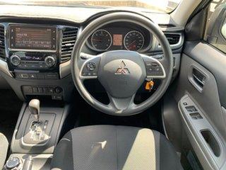2018 Mitsubishi Triton GLX+ Silver Sports Automatic Dual Cab Utility