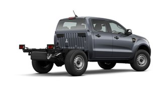 2020 Ford Ranger PX MkIII 2021.25MY XL Hi-Rider Grey 6 Speed Sports Automatic Cab Chassis