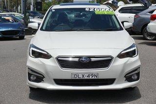 2017 Subaru Impreza G5 MY17 2.0i-S CVT AWD White 7 Speed Constant Variable Sedan.