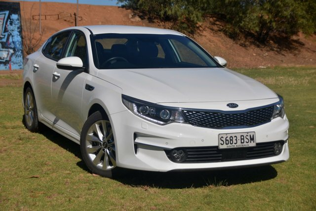 Used Kia Optima JF MY16 SI St Marys, 2016 Kia Optima JF MY16 SI White 6 Speed Sports Automatic Sedan