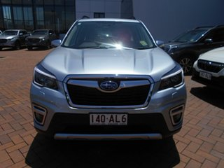 2020 Subaru Forester S5 MY21 2.5i-S CVT AWD Ice Silver 7 Speed Constant Variable Wagon.