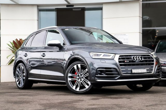 Used Audi SQ5 FY MY17 Tiptronic Quattro Sutherland, 2017 Audi SQ5 FY MY17 Tiptronic Quattro Grey 8 Speed Sports Automatic Wagon