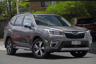 2020 Subaru Forester S5 MY20 Hybrid S CVT AWD Sepia Bronze 7 Speed Constant Variable Wagon Hybrid.