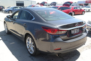 2014 Mazda 6 GJ1031 Atenza SKYACTIV-Drive Grey 6 Speed Sports Automatic Sedan