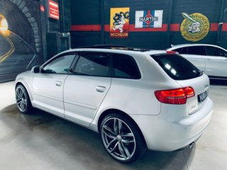 2012 Audi A3 8P MY13 Attraction Sportback S Tronic Silver 7 Speed Sports Automatic Dual Clutch