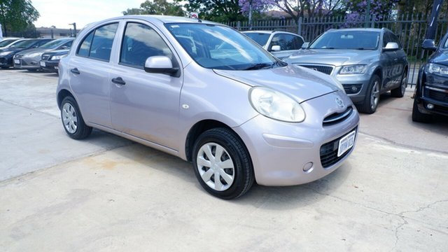 Used Nissan Micra K13 MY13 ST St James, 2012 Nissan Micra K13 MY13 ST Purple 4 Speed Automatic Hatchback