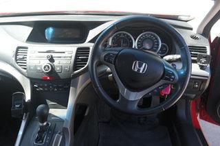 2009 Honda Accord Euro CU Red 5 Speed Automatic Sedan