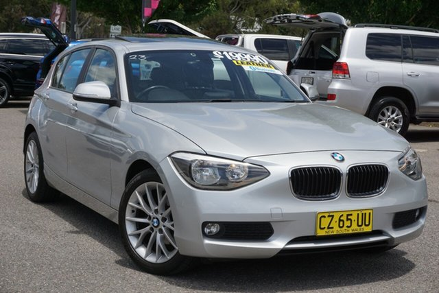 Used BMW 1 Series F20 MY0713 118d Steptronic Phillip, 2014 BMW 1 Series F20 MY0713 118d Steptronic Silver 8 Speed Sports Automatic Hatchback
