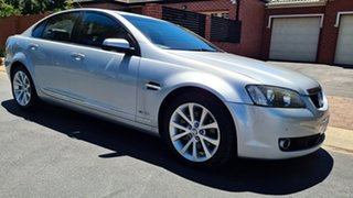 2010 Holden Calais VE MY10 V Nitrate Silver 6 Speed Automatic Sedan.