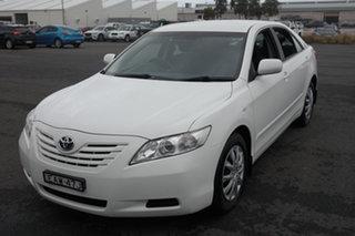 2009 Toyota Camry ACV40R Altise White 5 Speed Automatic Sedan.
