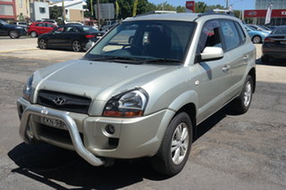 2009 Hyundai Tucson JM MY09 City SX Chrome 5 Speed Manual Wagon.
