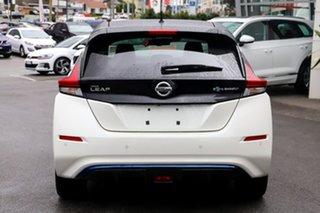 2020 Nissan Leaf ZE1 Ivory Pearl & Black Roof 1 Speed Reduction Gear Hatchback.