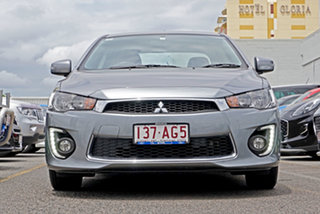 2017 Mitsubishi Lancer CF MY17 ES Sport Silver 6 Speed Constant Variable Sedan.