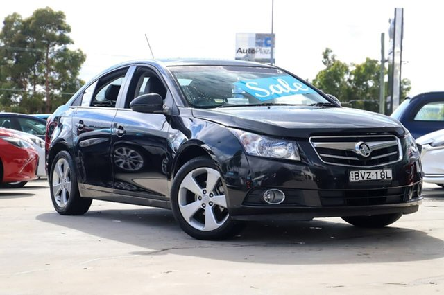 Used Holden Cruze JG CDX Kirrawee, 2011 Holden Cruze JG CDX Black 5 Speed Manual Sedan