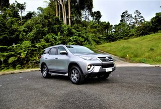 Toyota Fortuner Silver Metallic Automatic.