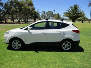 2012 Hyundai ix35 LM MY12 Elite AWD White 6 Speed Sports Automatic Wagon