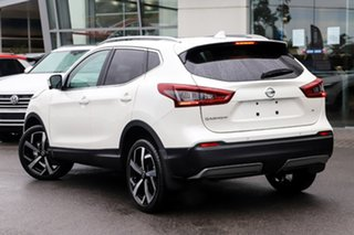 2020 Nissan Qashqai J11 Series 3 MY20 Ti X-tronic Ivory Pearl 1 Speed Constant Variable Wagon