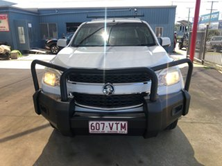 2013 Holden Colorado RG LT (4x4) White 5 Speed Manual Crew Cab Pickup
