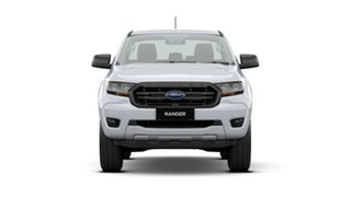 2020 Ford Ranger PX MkIII 2021.25MY XL White 6 Speed Sports Automatic Double Cab Chassis.