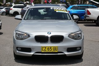 2014 BMW 1 Series F20 MY0713 118d Steptronic Silver 8 Speed Sports Automatic Hatchback.