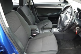 2010 Mitsubishi Lancer CJ MY11 SX Blue 6 Speed Constant Variable Sedan