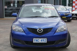 2006 Mazda 3 BK10F1 Neo Blue 5 Speed Manual Hatchback.