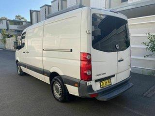 2011 Volkswagen Crafter 2ED1 MY12 35 MWB TDI300 White 6 Speed Manual Van
