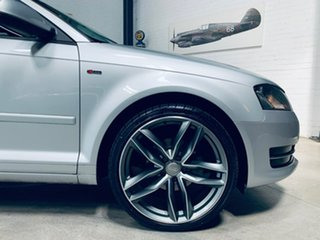 2012 Audi A3 8P MY13 Attraction Sportback S Tronic Silver 7 Speed Sports Automatic Dual Clutch.