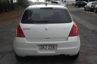 2008 Suzuki Swift RS415 White 5 Speed Manual Hatchback
