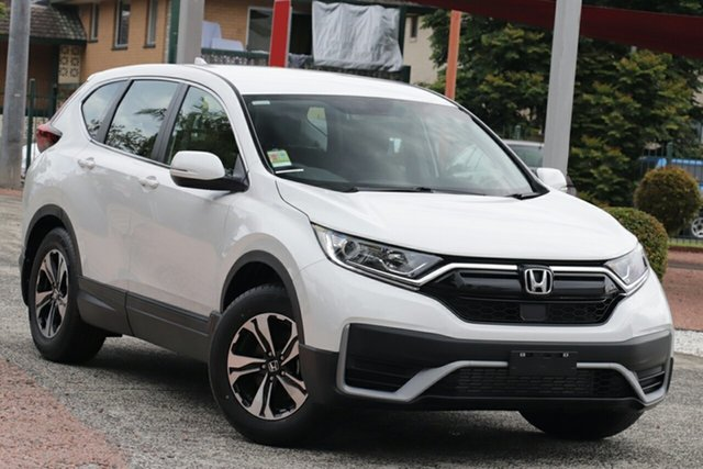 New Honda CR-V RW MY21 VTi FWD Artarmon, 2020 Honda CR-V RW MY21 VTi FWD Platinum White 1 Speed Constant Variable Wagon