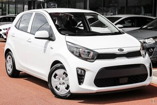 2020 Kia Picanto JA MY21 S White 5 Speed Manual Hatchback