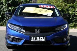 2016 Honda Civic 10th Gen MY16 VTi-LX Brilliant Sporty Blue 1 Speed Constant Variable Sedan