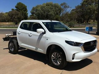2020 Mazda BT-50 TFR40J XT 4x2 Ice White 6 Speed Sports Automatic Cab Chassis.